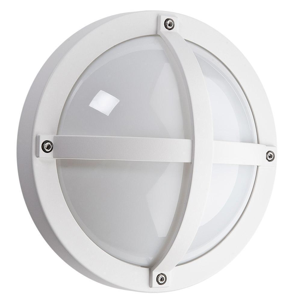 Solo Mat-Hvid 12,5W 1100 LED 3000K Sensor