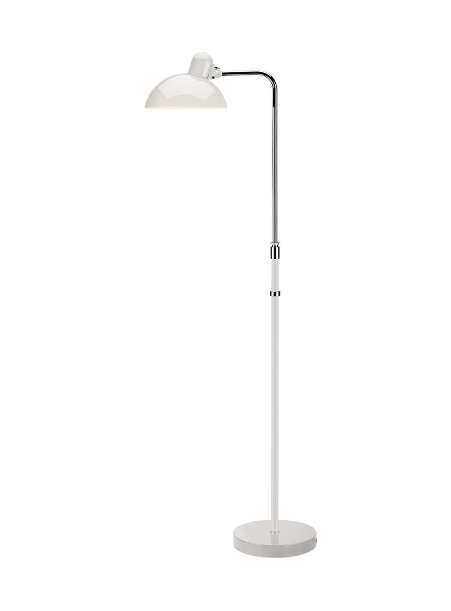 Kaiser idell 6580-F White Gulvlampe