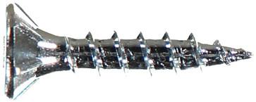 WOODSCREW 4,0 X 20 DFH ZINC PLATED 136111