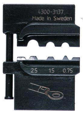 MOBILE-bakker OKB0725 f/ uisol. forbindelser 0,75-2,5mm² 5119-313700