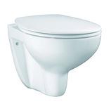 GROHE Bau Ceramic toilet væghængt inklusiv sæde med soft close og quick release