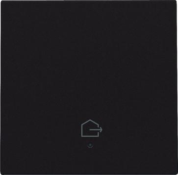"""Tangent med LED, med """"forlad hjem"""" symbol, dark brown 124-32902"""
