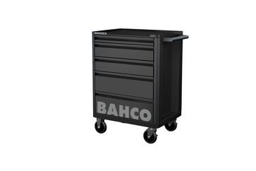 Bahco E72 værktøjsvogn 5 skuffer Sort 1472K5BLACK
