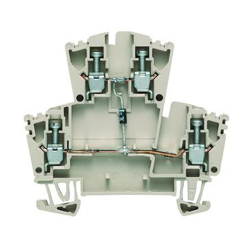 Dobbeltklemme WDK 2,5D med diode 102330 1023300000