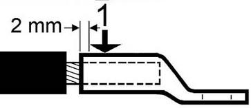 DUAL pressebakker 13DCB13 f/ KRF/KSF 35mm² 5303-100900