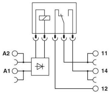 Relæmodul PLC-RPT- 12DC/21 2900316