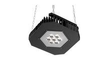 Grafias Sport OMS 16000lm/142//840 LED Fix IP66 nedhængt med kæde sort