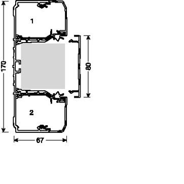 Kanalbund brn 170 70170 perlehvid BRN70170PERL