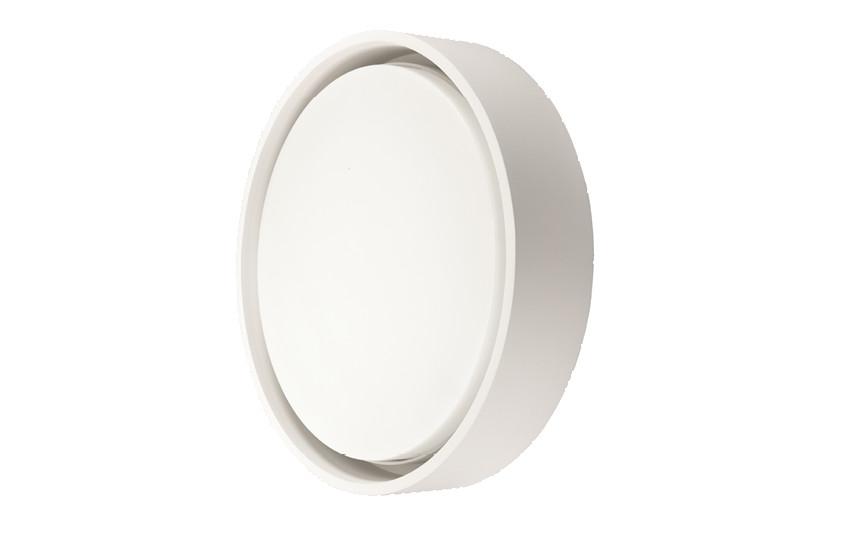 Frame Round Maxi Hvid LED 3000K Nødlys
