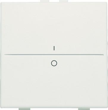 Tangent med IO symbol til 2-tryk, white 101-00002