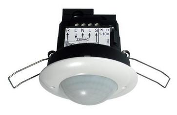Tilstedeværelsessensor PD2-M-DIM-I 1-10V, Indbygning 92167