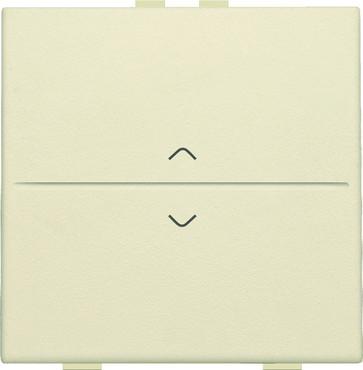 Tangent med pil symboler til 2-tryk, cream 100-00004