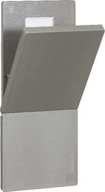 LK Lågesæt med pakningsstrimmel uden aflæsningsrude mørkegrå 169A1105