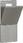 LK Lågesæt med pakningsstrimmel uden aflæsningsrude mørkegrå 169A1105 miniature
