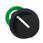 Harmony flush drejegreb i plast med en sort rund knob med 2 positioner og fjeder-retur fra H-til-V ZB5FD49 miniature