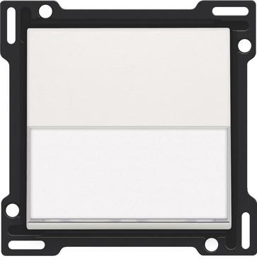 Tangent, enkelt, med tekstfelt, hvid 101-60905