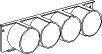 Flange T/4X50 mm rør UFB-ap 5197755
