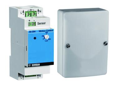 Minilux control med lyssensor 3-300LUX 36-194