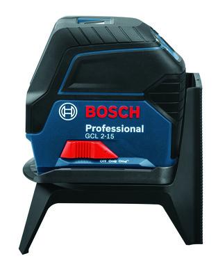 Blå Bosch Linje-punktlaser GCL 2-15 0601066E00