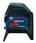 Blå Bosch Linje-punktlaser GCL 2-15 0601066E00 miniature
