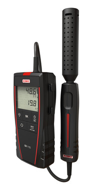 Portable CO-Meter with CO / Temperature remote probe, 2m cable (0 to 500 ppm and 0 + 50°C) 5706445791125