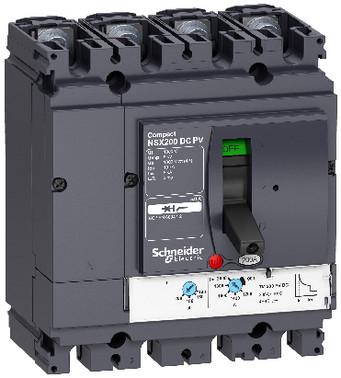 Maksimalafbryder DC-PV NSX80 4 poler 80A LV438081