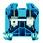 Gennemgangsklemme WDU 35 unbraco 102068 1020680000 miniature