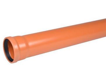 110x2m SN4 afløbsrør PVC-ML 0521106