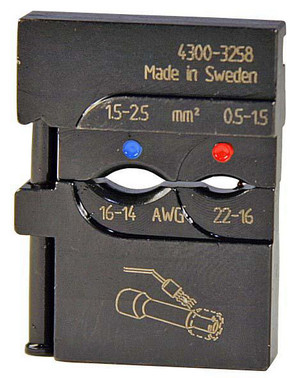 MOBILE-bakker OSW0525 f/ muffe m. varmekrympiso. 0,5-1,5mm² + 1,5-2,5mm² 5119-325800