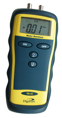 Digitron PM 20 - differential manometer made for hard work 5706445270187