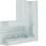Fladvinkel plast for BR65130 RAL 7035 BR6513057035 miniature