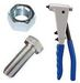 Fixings and fasteners for iron and metal
