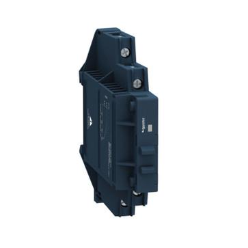 Solid state relæ for DIN-skinne nulvoltskoblende 60VDC 1F 12A 4-32VDC forsyning SSM1D212BD