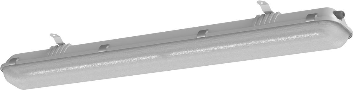 Eksplosionsbeskyttede belysningsarmatur EXF250LED-0600-F1-35E-33-11P20-GRP-PC-AMO1, GRP/PC