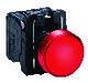 Harmony signallampe komplet med LED i rød farve og 24VAC/DC forsyning 7517901925
