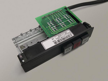 Komponent label 88,9X36,5 mm hvid 596-12664