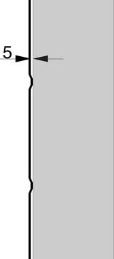 Hulbånd 30 mm rustfri 800-33
