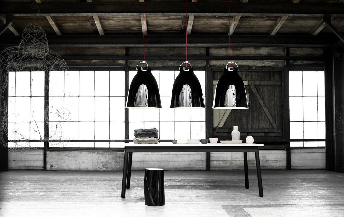 Caravaggio Black P4 pendel  (E27)