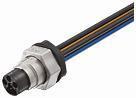 MQ15-X- Power han-fatningen skærmet frontmonteret ledninger PVC 4x1,5 7000-P8281-P810025