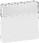 LK FUGA antibakteriel tangent med tekstfelt for 16A afbrydere, hvid 580D6017 miniature