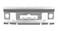 Universal samlebeslag rustfri for gitterbakker 300-400mm 730R miniature
