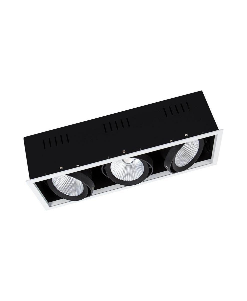 LEDVANCE Spot Multi 3 x 30W/3000K UGR16 hvid 38°