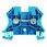 Gennemgangsklemme WDU 2,5 blå 102008 1020080000 miniature