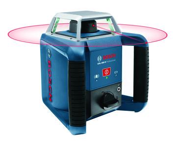 Blå Bosch Rotationslaser GRL 400 H M/LR1 0601061800