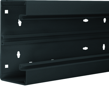 Installationskanalbund BR65170 i plast 68x170mm RAL 9011 BR6517019011