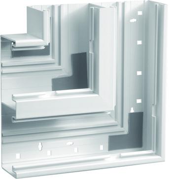 Fladvinkel plast for BR65210D RAL 9016 BR652105D9016