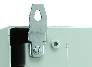 Vægbeslag rustfri for PLM43-108 (4STK) NSYPFXPLM