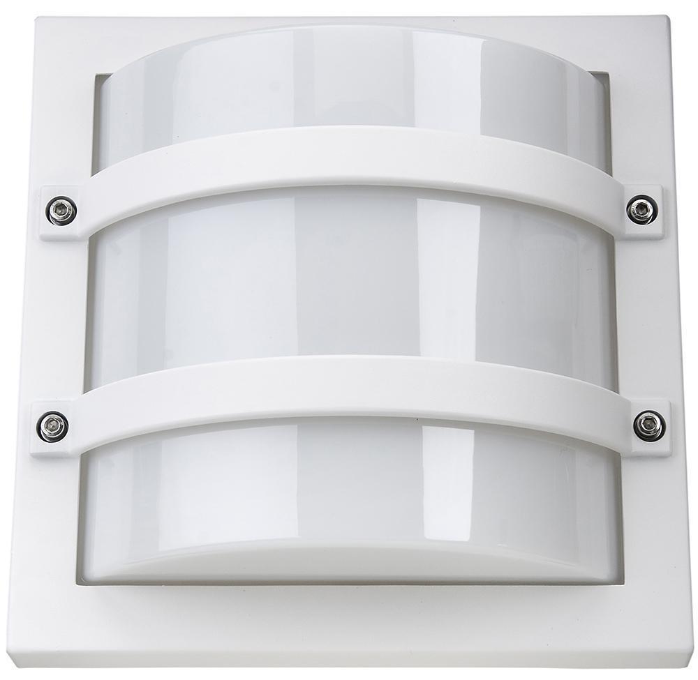 Largo Mat-Hvid 10W LED 3000K m/Skumring