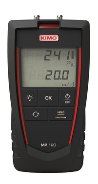 Kimo MP120 micro manometer 5703534400029
