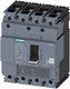 Maksimalafbryd,fs160,63a,4p,55ka,tm220 10 x in kabel beskyttet 7822338487